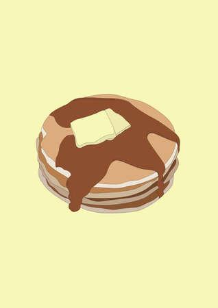 pancake Banco de Imagens - 81419634
