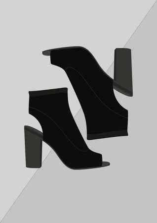 high heel shoes Banco de Imagens - 106674848