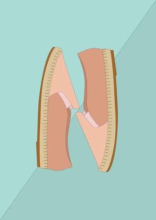 shoes Standard-Bild - 106674855