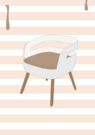 modern chair 版權商用圖片 - 81536839