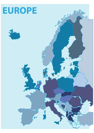 Europa kaart.