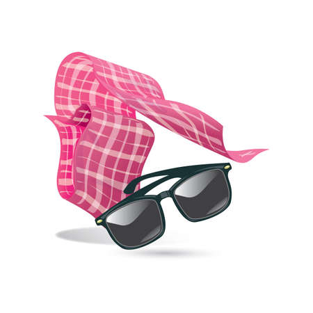 sunglasses with scarf