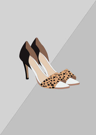 high heel shoes Reklamní fotografie - 106674885