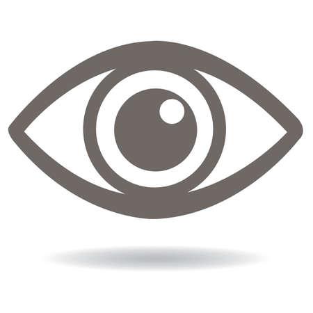 Icône de l'oeil Banque d'images - 81537143