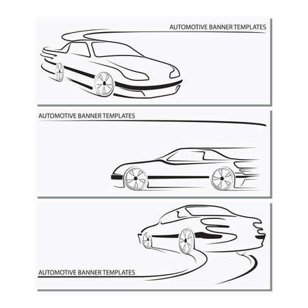 自動車用バナー テンプレート