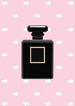 perfume bottle 向量圖像