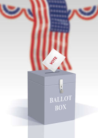 election day for america Banque d'images - 106674892