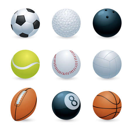 collection of balls
