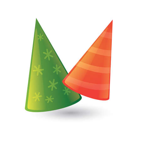 party hats Illustration