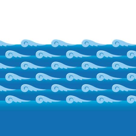 water waves Stock fotó - 81537140