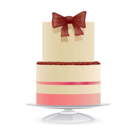 Gâteau de mariage Banque d'images - 81419720