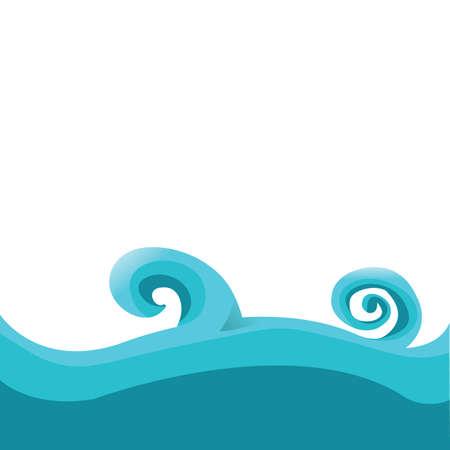 water waves Stock fotó - 81537158