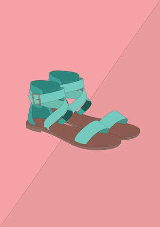 Schuhe Vektorgrafik