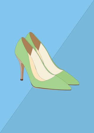 high heel shoes Reklamní fotografie - 106674924