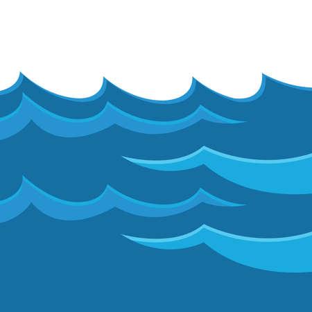 water waves Stock fotó - 81537161