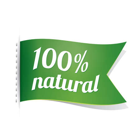 TIquette de produit naturel Banque d'images - 81537162