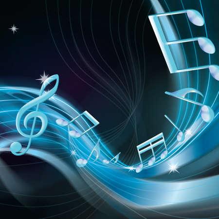 musical note Ilustração