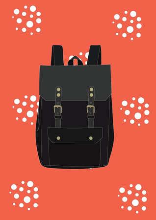 backpack  イラスト・ベクター素材