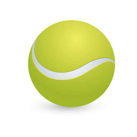 tennis ball Vettoriali