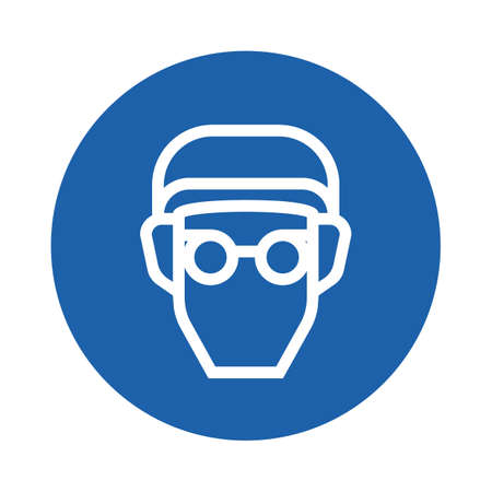 person wearing glasses Illustration