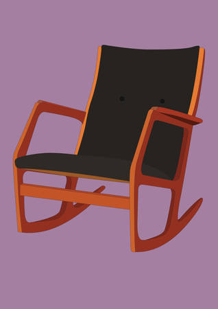 Rocking chair Banque d'images - 81419775