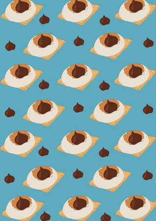 pastry background design