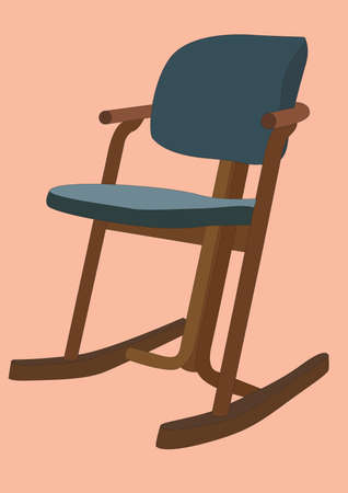 rocking chair Stock Vector - 81419795
