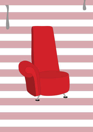chair Ilustrace