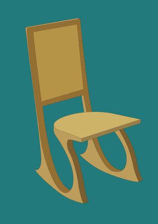 椅子  イラスト・ベクター素材