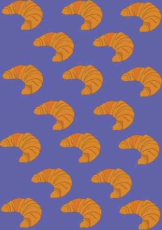 croissant background