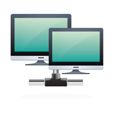 monitors 向量圖像
