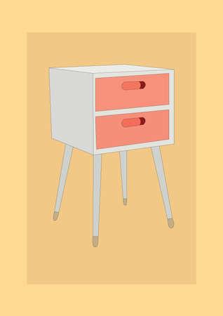 chest of drawers 版權商用圖片 - 81536877