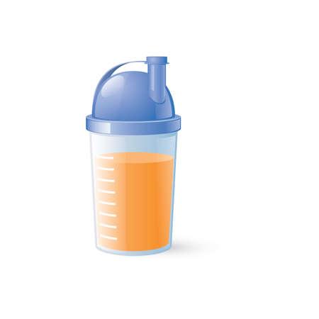 protein shake Illusztráció