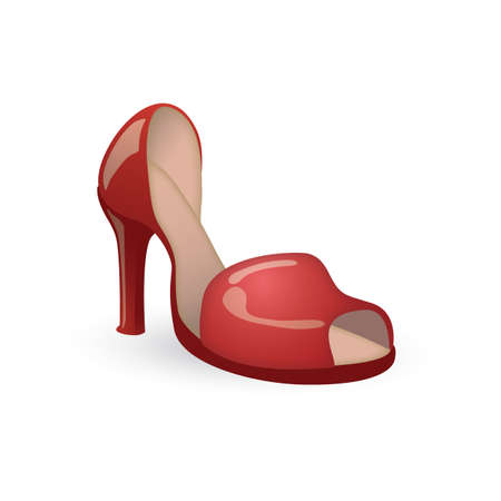 high heels Illustration