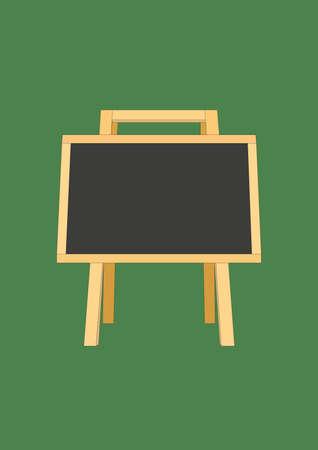 chalk board Ilustrace
