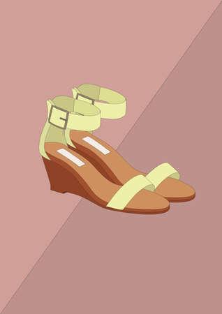 high heel shoes Standard-Bild - 106675040