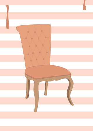 dining chair Illustration