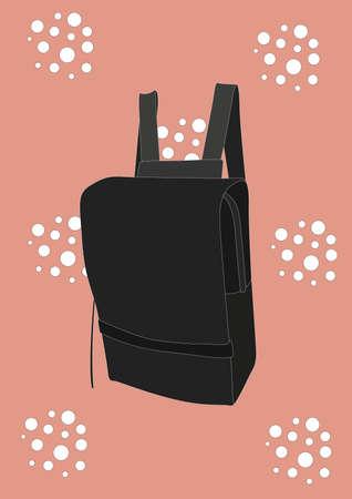 backpack Ilustracja