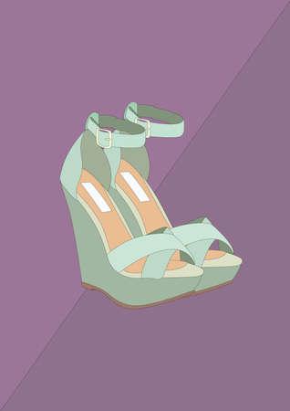 high heel shoes Reklamní fotografie - 106675058
