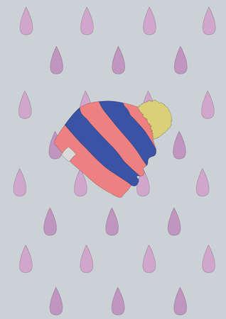 ski cap Иллюстрация