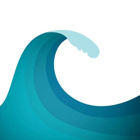 water waves Stock fotó - 81537301