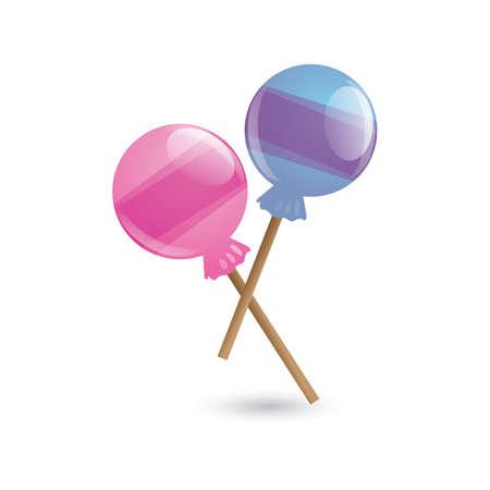 lollipops Ilustrace