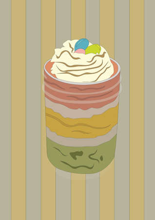 milkshake in a jar