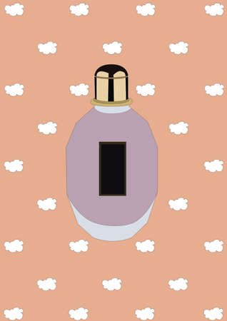 perfume bottle Illustration