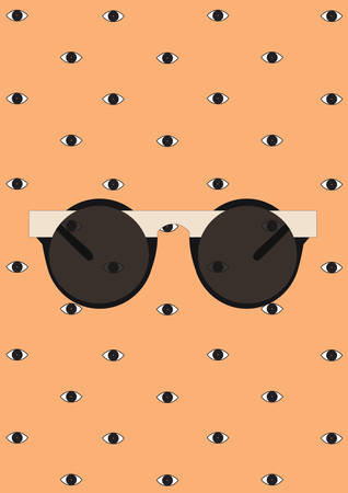 ビンテージ眼鏡