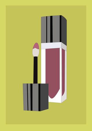 lip gloss Illustration