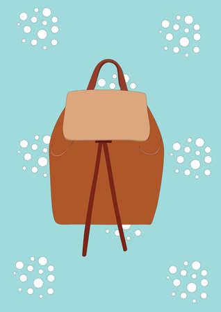 backpack 向量圖像