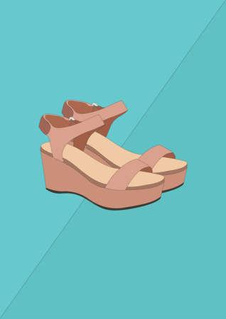 high heel shoes Banco de Imagens - 106675096