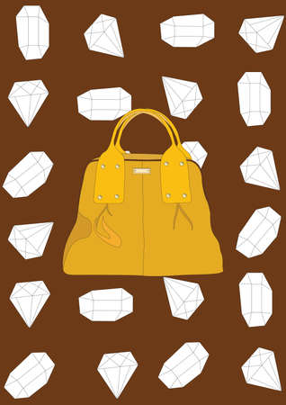 handbag Stock Illustratie