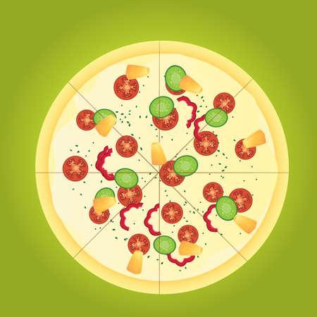 pizza Illustration